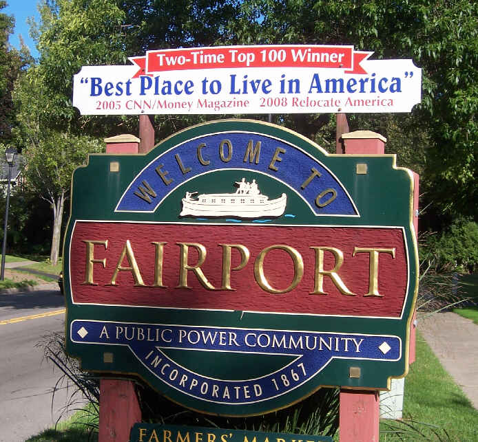 Fairport best place to live in america for Best places to live us