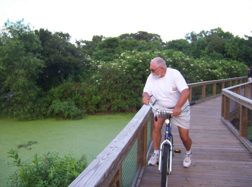 There's also several new bike paths, including the Cypress Wetlands path that takes you back through the marsh with alligators and lots of birds.
